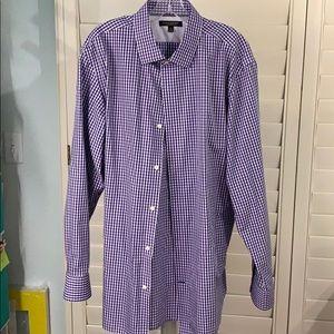 Men's, dress shirt, banana republic, XL, beautiful